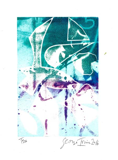 print by George Irvine